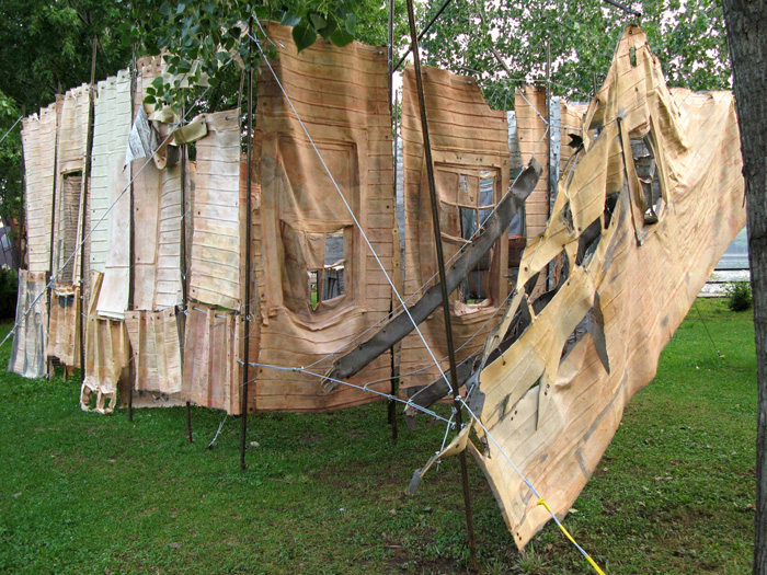 Social Dress New Orleans - 730 days after (installation view)