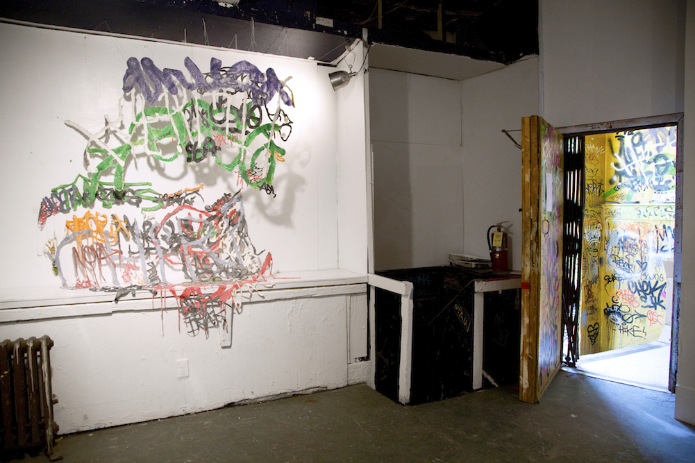 Installation view, ABC No Rio, NY
