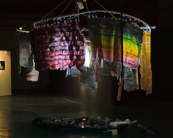 Diaries from Capillary City (installation view)